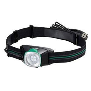 日立工機 14.4V 18V コードレスヘッドライト 充電式 USBアダプタ付 蓄電池別売り UB18DKL(S)の商品画像|ナビ
