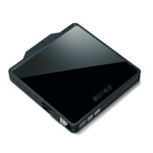 BUFFALO Boostケーブル搭載 ポータブルDVDドライブ ブラック DVSM-PC58U2V-BK[送料無料]