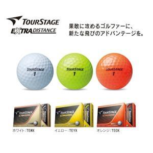 BRIDGESTONE ブリヂストン ツアーステージ EXTRA DISTANCE エクストラディスタンス ゴルフボール 1ダース 日本仕様