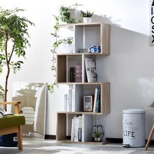 本棚 書棚 ディスプレイラック 4段 オープンラック|alberoshop|11