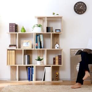 本棚 書棚 ディスプレイラック 4段 オープンラック|alberoshop|17