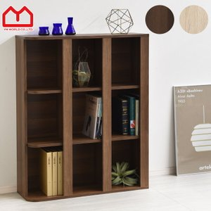 おもちゃ箱 収納 本棚 3×3 大容量 絵本棚 おもちゃラック|alberoshop