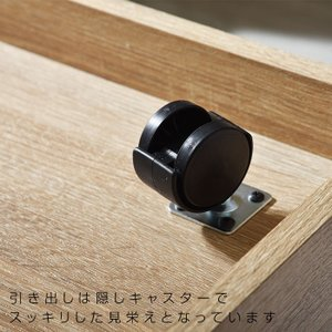 キッチンワゴン 耐熱 キャスター付き カウンター ラック レンジ台 おしゃれ|alberoshop|10