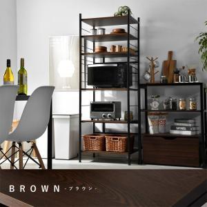 レンジ台 キッチンラック 食器棚 オープンラック おしゃれ 大型レンジ対応 収納|alberoshop|16