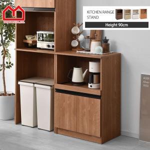 レンジ台 約幅60cm おしゃれ 安い レンジボード 食器棚 キッチン 収納 北欧|alberoshop