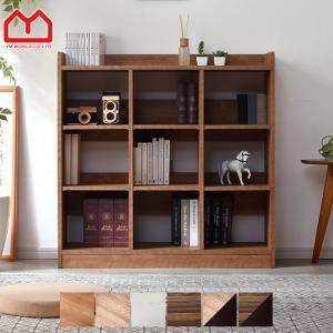 本棚 オープンラック 幅90cm 3列3段 スリム 薄型 おしゃれ 収納 大容量|alberoshop