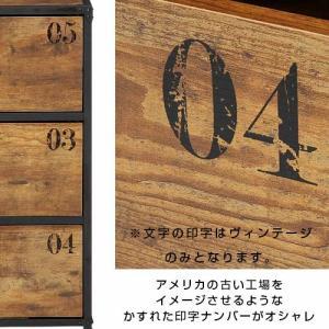 チェスト 3段 幅60 奥行40 男前インテリア 男前家具 木製 安い|alberoshop|03