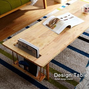 センターテーブル 120 テーブル ロー コーヒー カフェ 木製 安い|alberoshop