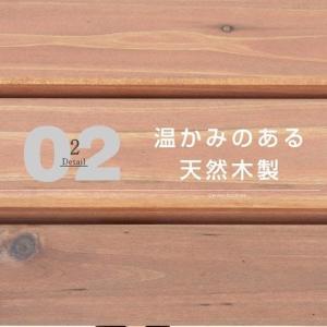 パークベンチ 天然木製 ベンチ 120cm ガーデン ガーデニング alberoshop 04