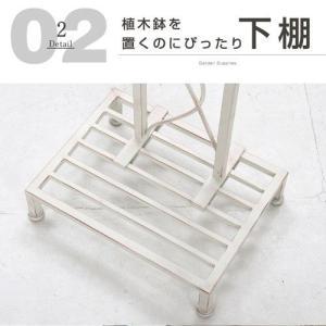 メールボックス スチール ホワイト ポスト 自立式 棚付き スタンド 安い|alberoshop|04