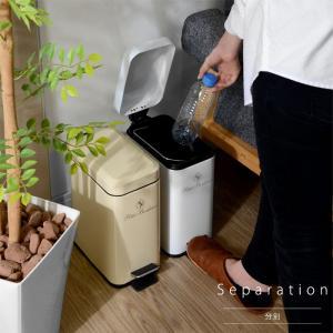 ゴミ箱 ごみ箱 ダストボックス ごみばこ フタ付き ペダル式 alberoshop 18