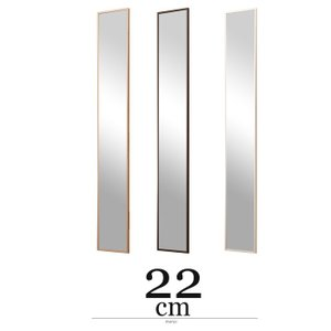 ウォールミラー 幅22cm スリムミラー 薄型ミラー 姿見鏡 安い|alberoshop