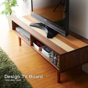 テレビ台 天然木 テレビボード ウォールナット 幅120 テレビ台 安い|alberoshop