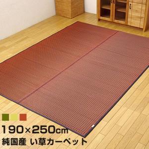 純国産い草ラグ 190cm×250cm 長方形 日本製 い草 安い|alberoshop