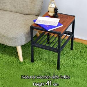 天然木 幅40cm 木製サイドテーブル ローテーブル ミニテーブル 安い|alberoshop