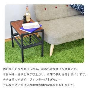 天然木 幅40cm 木製サイドテーブル ローテーブル ミニテーブル 安い|alberoshop|02