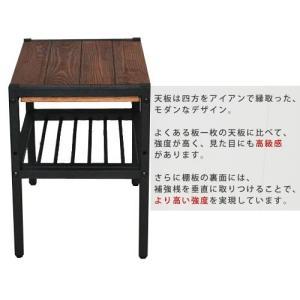 天然木 幅40cm 木製サイドテーブル ローテーブル ミニテーブル 安い|alberoshop|03