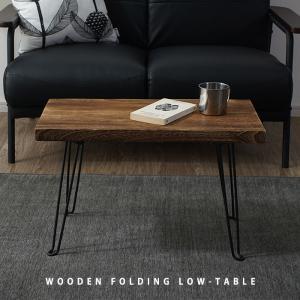 折りたたみ ローテーブル 天然木 テーブル センターテーブル 丸テーブル|alberoshop