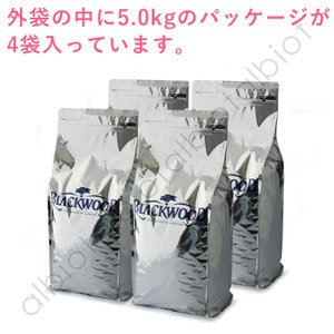 ブラックウッド 2000 ドッグフード 20kg (5kg×4)|albiot-shop|04