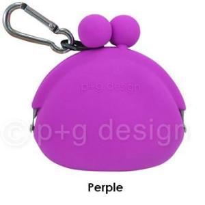 シリコン製ミニがまくち POCHIBI Purple (紫)