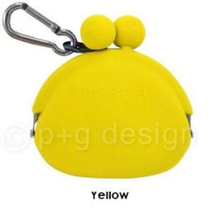 シリコン製ミニがまくち POCHIBI Yellow (黄)