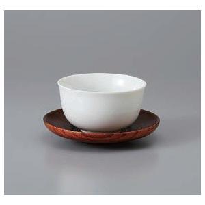 和食器 煎茶碗 白磁平型煎茶 茶托付 陶器 千茶碗 湯呑み茶碗 日本製