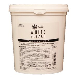 アレスカラーシリーズより、ホワイトブリーチ<1剤>とホワイトオキシ6%<2剤&gt...