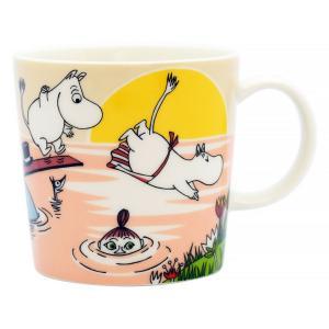 ムーミンの世界を身近に感じ取れるアラビア・ムーミンシリーズのマグカップ 可愛らしい絵柄の食器はギフト...