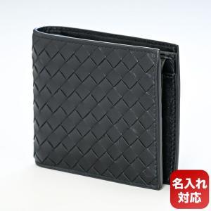 ボッテガヴェネタ 二つ折り財布 メンズ ブラック 19364...