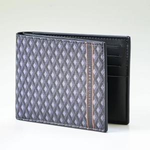 ダンヒル 二つ折り財布 メンズ エンジンターン ラゲッジキャンバス グレー 19R2300CC030|alevelshop