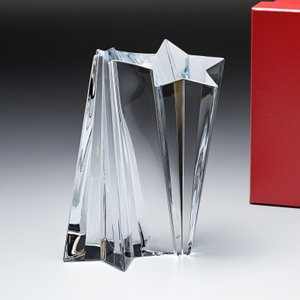 バカラ クリスタルオブジェ ブロック シューティングスター 流れ星 置物 インテリア 2106020|alevelshop