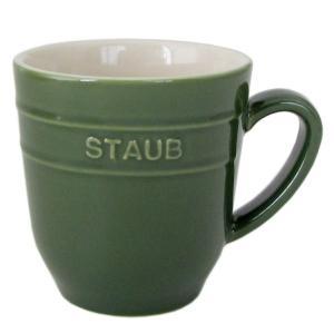 ストウブ マグカップ セラミック 350ml バジルグリーン 40508 567 0|alevelshop