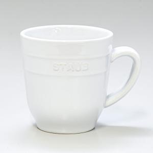 ストウブ マグカップ セラミック 350ml ホワイト 40508 568 0|alevelshop