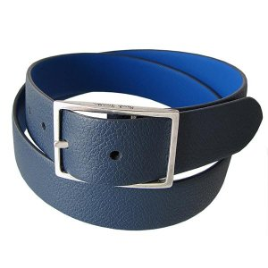 ポールスミス ベルト Paul Smith メンズ リバーシブル ネイビー ブルー ANXA 4436 B620 N Made in SPAIN
