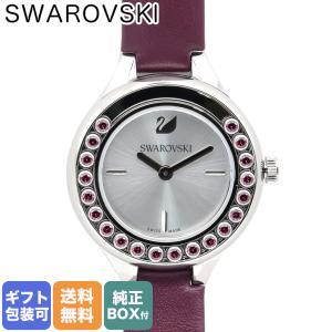スワロフスキー SWAROVSKI 腕時計 レディース Lovely Crystals Mini バーガンディ 5295331|alevelshop