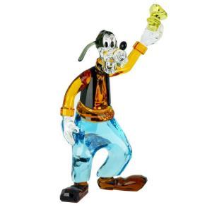 スワロフスキー クリスタルフィギュア GOOFY グーフィー Disney ディズニー 犬 オブジェ 置物 5301576|alevelshop