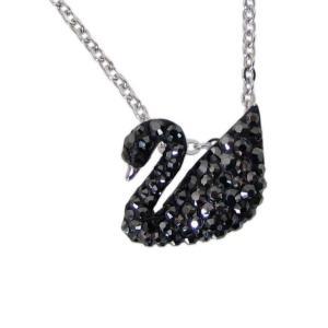 スワロフスキー SWAROVSKI ネックレス Iconic Swan Small アイコニックスワ...