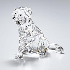 スワロフスキー フィギュア ラブラドールのお母さん LABRADOR MOTHER 犬 ドッグ オブジェ 飾り インテリア 5399004|alevelshop