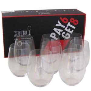 リーデル タンブラー ワイングラス 8個セット リーデル・オー カベルネ メルロ 赤ワイン 600ml 5414/80|alevelshop