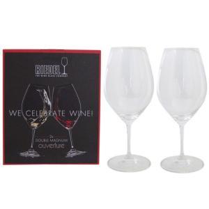 リーデル ワイングラス ペア オヴァチュア ダブルマグナム 赤ワイン 995ml 6408/01|alevelshop