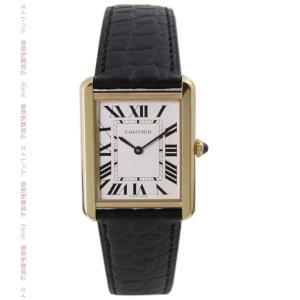 カルティエ Cartier 時計 タンクソロ ML メンズ ...