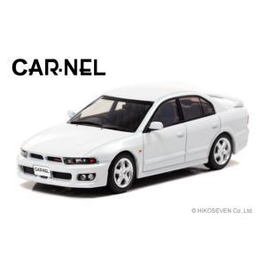 ※3月新発売※【CAR-NEL】1/43 三菱 ギャラン VR-4 type-V (EC5A) 1998 Galaxy White|alex-kyowa