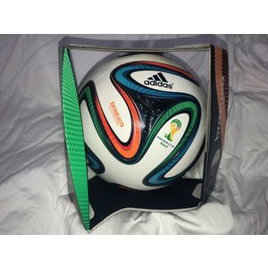 【adidas】BRAZUCA ブラズーカ 2014年ブラジルワールドカップ公式球(5号)BRAZUCA OMB 【ラスト1個】|alex-kyowa