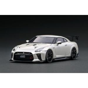 ※5月新製品※【ignition model】1/43 TOP SECRET GT-R (R35) White Peal|alex-kyowa