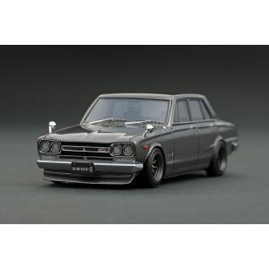 ☆コロナに負けるな!応援特価☆【ignition model】1/43 Nissan Skyline 2000 GT-R(PGC10) Silver Watanabe Wheel|alex-kyowa