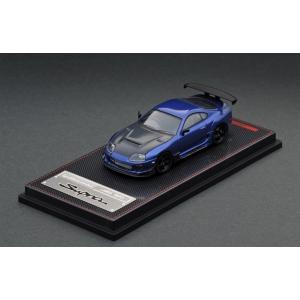☆コロナに負けるな応援特価!☆【ignition model】1/64 Toyota Supra (JZA80) RZ Blue Metallic|alex-kyowa