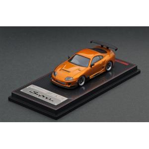 ☆コロナに負けるな応援特価!☆【ignition model】1/64 Toyota Supra (JZA80) RZ Orange Metallic|alex-kyowa