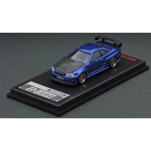 ☆コロナに負けるな応援特価!☆【ignition model】1/64 Nismo R34 GT-R Z-tune Blue Metallic|alex-kyowa