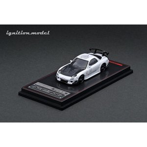 ☆11月新製品☆ 【ignition model】 1/64 Mazda RX-7 (FD3S) RE Amemiya Whiteの商品画像|ナビ