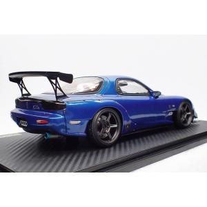 ☆4/14予約締切☆【ignition model】1/18 FEED RX-7 (FD3S) Blue Metallic  [2021年8月発売予定]|alex-kyowa